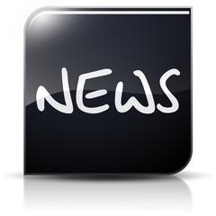 Symbole glossy vectoriel news