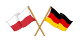 Fototapety Polish - German alliance and friendship