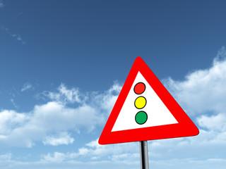 Verkehrszeichen Lichtzeichenanlage