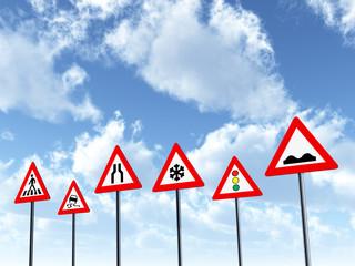 Deutsche Verkehrszeichen