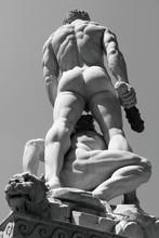 Hercule et Cacus sculpture par Baccio Bandinelli