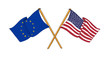America and Europe alliance and friendship