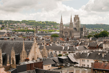 Cathedral in Rouen, France