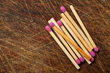 Group of matches.