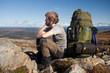 Pause auf einer Trekkingtour in Schweden