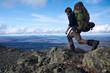 Bergwandern mit Trekkingrucksack