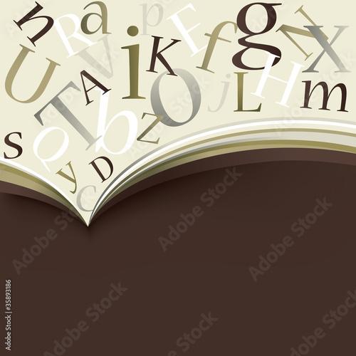 Elegant vector book design