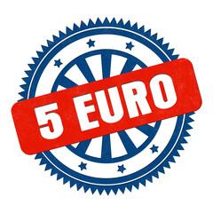 5 Euro Stempel