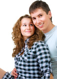 Healthy Young Couple Portrait