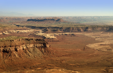 Monument Valley from the air Utah USA