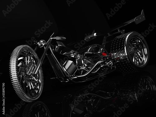 Chrome Trike © mironovphotobank