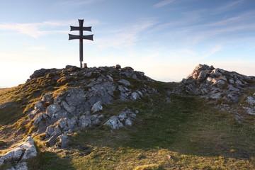 Cross on top of mountain - Klak - Slovakia