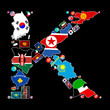 Countries of K