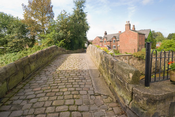 Packhorse bridge, Croston Village, Lancashire