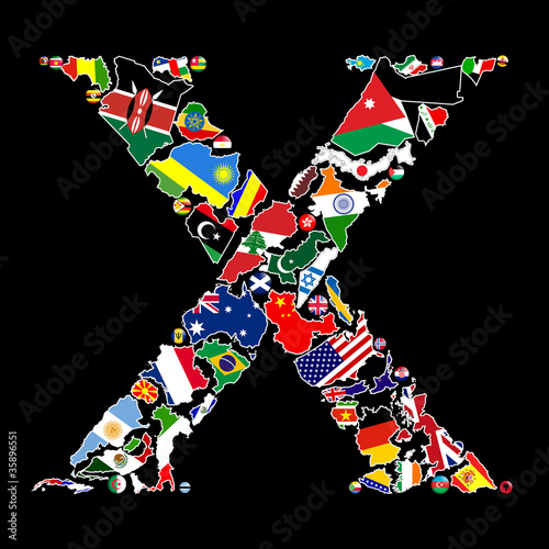 Countries of X