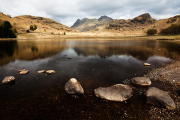 Blea Tarn & the Langdale Pikes, Lake District, Cumbria