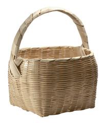 light brown basket