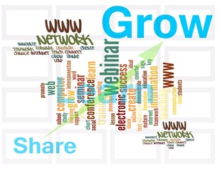webinar, a path to share, learn and grow