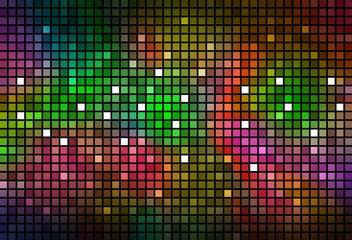 abstrakter Hintergrund Discostyle bunt