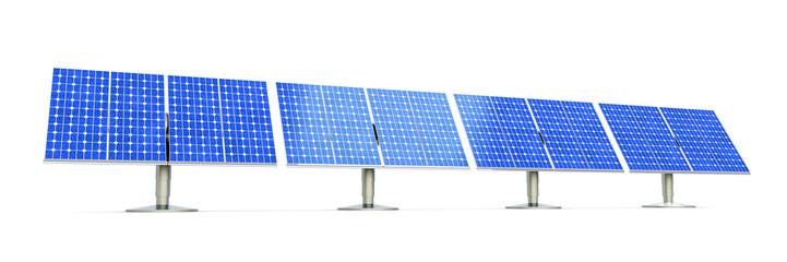 Solar Zellen Feld