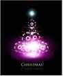Christmas glowing tree