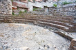 antique roman amphitheater Odeon, Taormina, Sicily