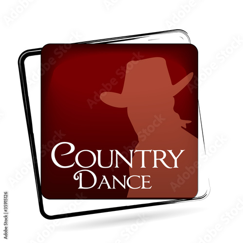 icône danse country