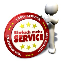 100% mehr Service