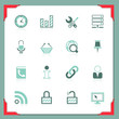 Internet and web icons | In a frame series