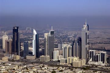 Dubai Skyline with Sheikh Zayed Road