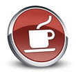 "Red 3D Style Icon ""Coffee Shop"""