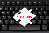 Providing computer and internet solutions poster