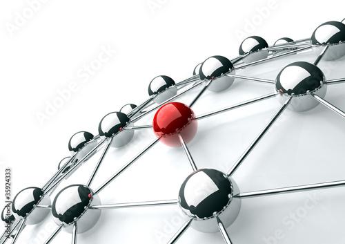 concepto de trabajo en red