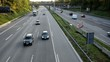 Autobahn Totale Zweispurig