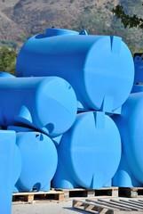 Serbatoi per acqua in polietilene