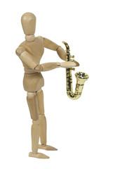 Molded Saxophone