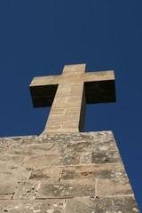 Croce di mattoni