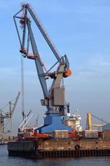Verladekran im Hamburger Hafen