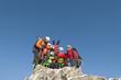 gemeinsames Gipfelbild