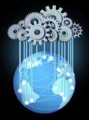 Global cloud computing