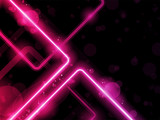 Fototapety Red Lines Background Neon Laser