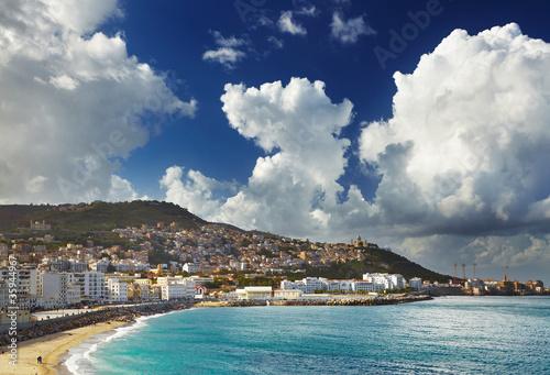 Poster Algerije Algiers city, Algeria