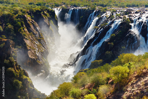 Fototapeten,wasserfall,afrika,angola,fluß