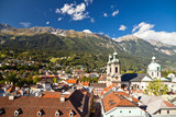 view of the city Innsbruck, Austria