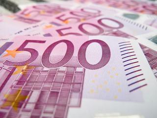 500 five hundreds euro notes