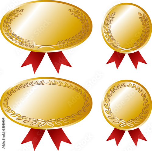 vector set: medal