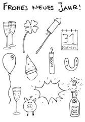 Silvester Doodles