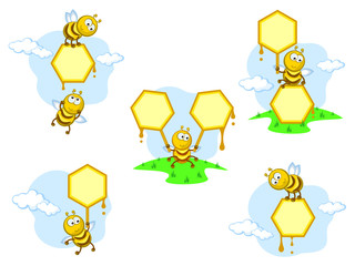 bees banners