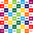 crown shape design elements