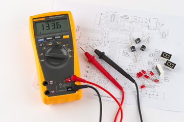 multimeter and electronic design